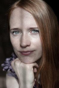 Portrait de Juliette Allen par Benoît Auguste